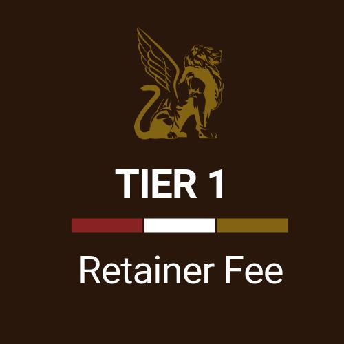 Retainer Fee Tier 1