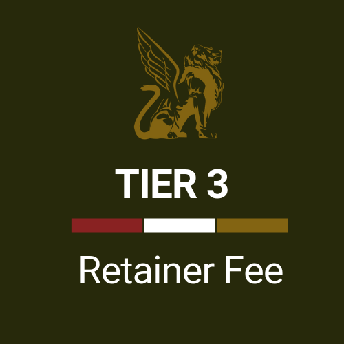 Retainer Fee Tier 3