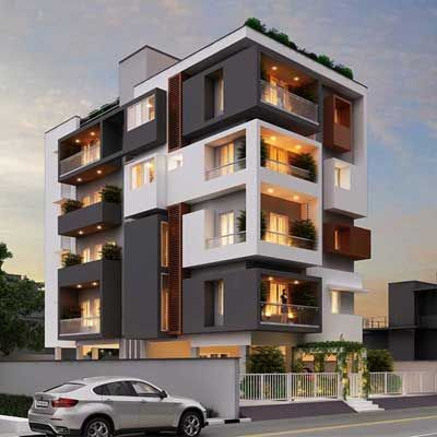 Aize Residence Side Elevation
